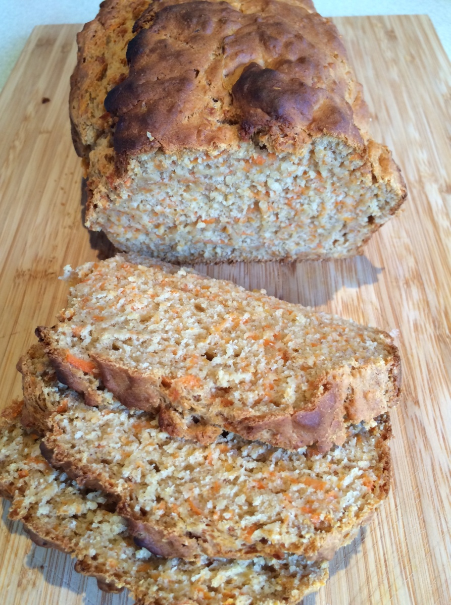 Vegan carroty banana bread